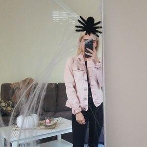pink jean Jacket